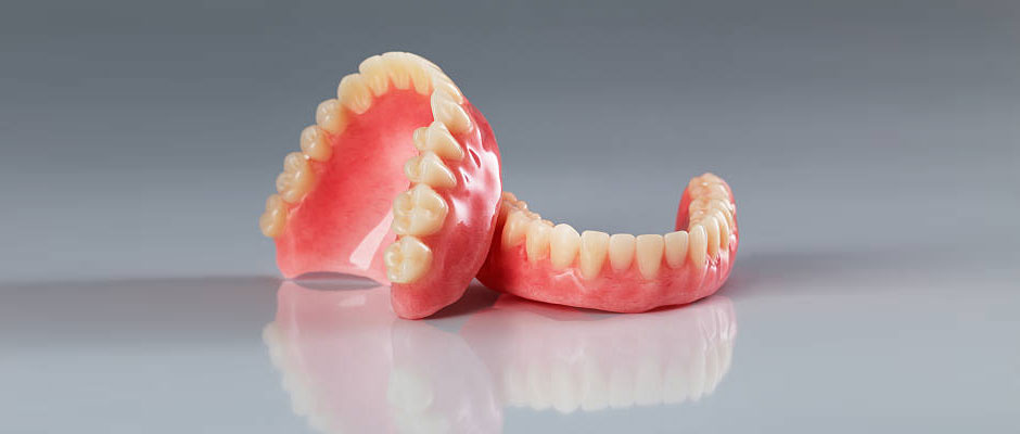 Partial and Full Dentures; metal and plastic